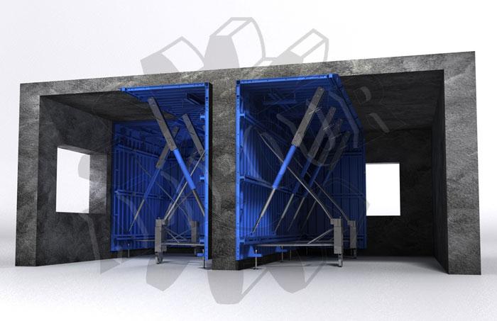 قالب تونلی ، مجتمع صنعتی علیپور