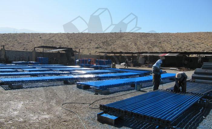 جک سقفی ، جک پوشش دار، جک بدون پوشش ، جک ، سرجک ، مجتمع صنعتی علیپور