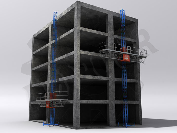 داربست مکانیزه ، جک سقفی ، داربست متحرک ، داربست ، سرجک ، جک ، مجتمع صنعتی علیپور