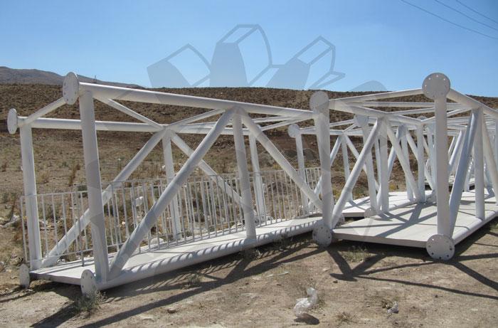 پل عابر پیاده ، مجتمع صنعتی علیپور